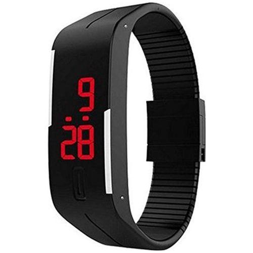 ASGARD Black Dial Men's Watch_ASGARD-LED-DIGITAL by AS Gard