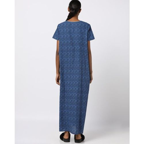 HUSHH Printed Cotton Nightgown