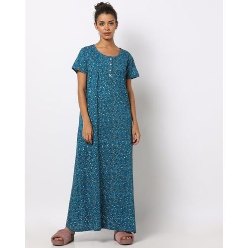 HUSHH Floral Print Nightgown