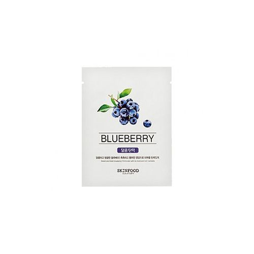 skinfood beauty in a food mask (blueberry)