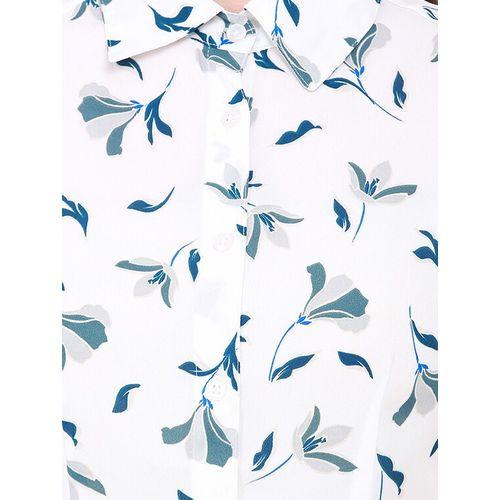 Heather Hues short sleeved printed shirt