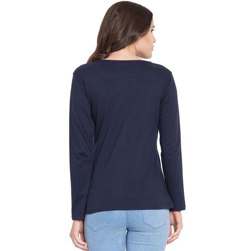 American-Elm round neck long sleeved tee