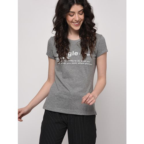 Friskers quirky text short sleeved tee