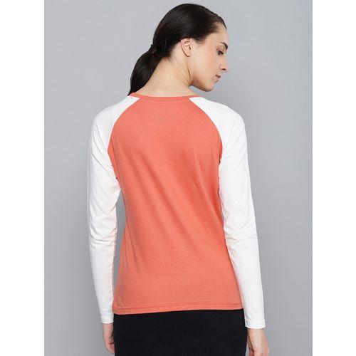Dillinger raglan sleeved color block tee