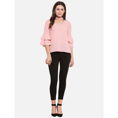 MARTINI layered bell sleeved top