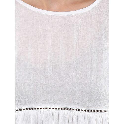 Bohobi bell sleeved lace insert top