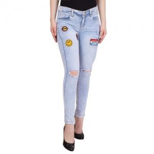 American-Elm blue cotton jean