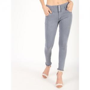 SWAG ON mid rise frayed hem jeans