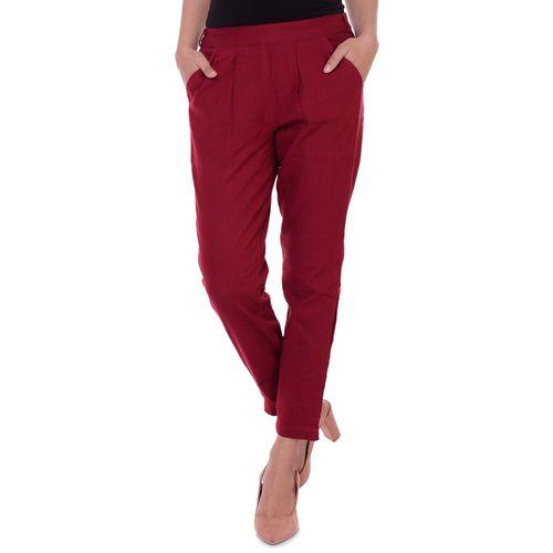 Fashion Cloud high rise pleated trouser