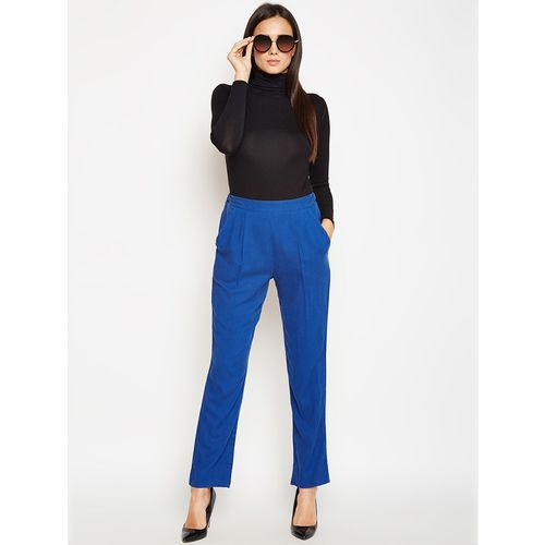oxolloxo high rise pleated trousers
