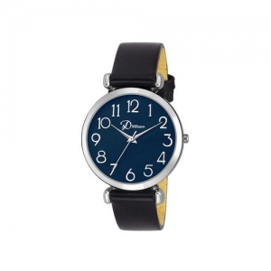 d'milano women eligent blue analog watch
