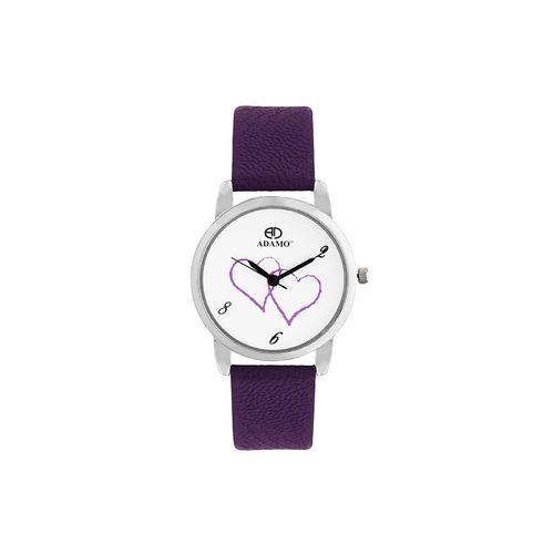 adamo legacy women's wrist watch a801pr01