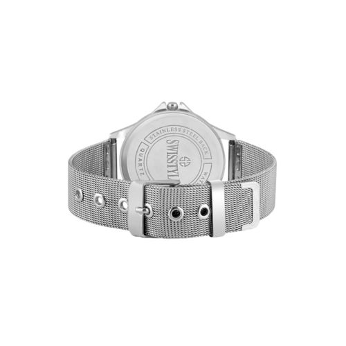 swisstyle stainless steel ladies anolog watch