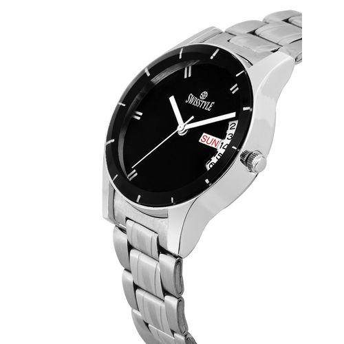 Swisstyle metal strap analog watch (ss-lr065)