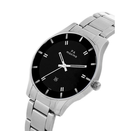 Maxima round dial analog watch-47762cmli
