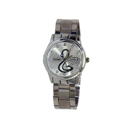 sooms metallic analog wrist watch