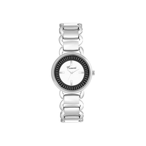 camerii elegance white dial wrist watch for women cwl1016