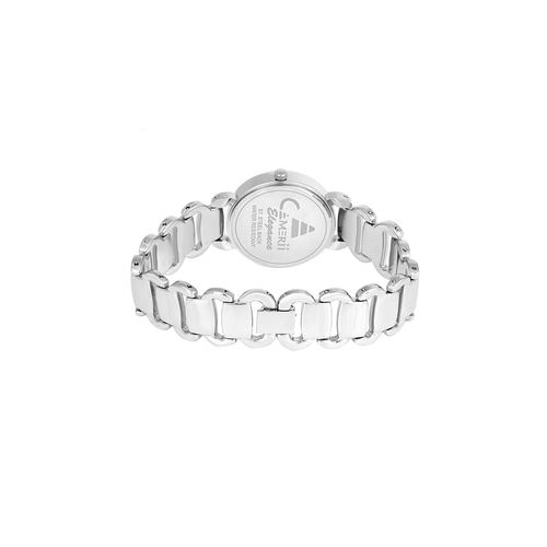 camerii elegance white dial wrist watch for women cwl1016