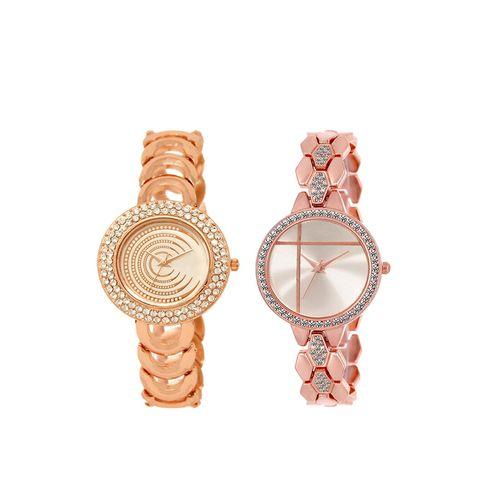 ADK set of 2 analog watch combo(lk-202-242)