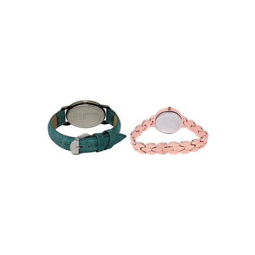 Lorem set of 2 analog watch combos(lk-229-242a)