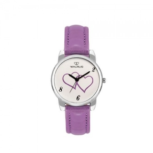 walrus sia purple color analog women watch- www-sia-141407