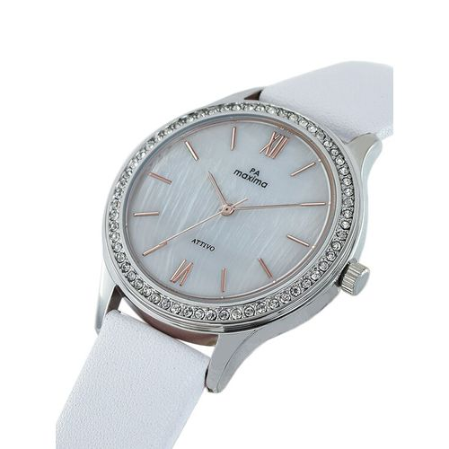 Maxima round dial analog watch-59461lmli