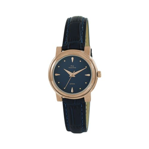 Maxima round dial analog watch-57662lmlr