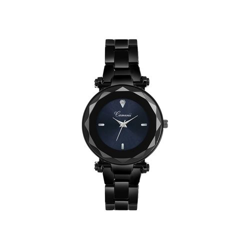 camerii elegance black dial wrist watch for women cwl1027