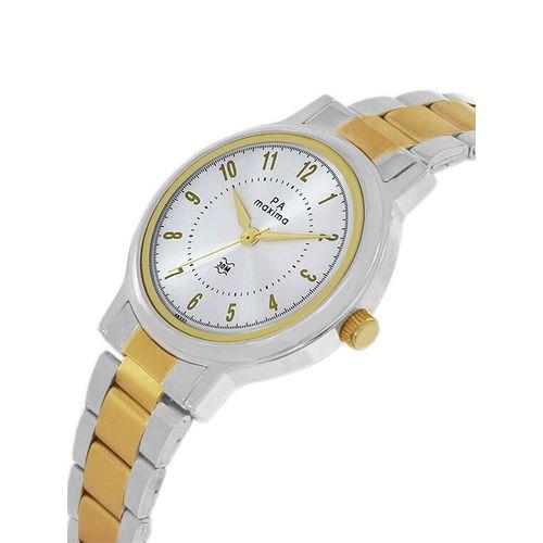 Maxima round dial analog watch-48332cmlt
