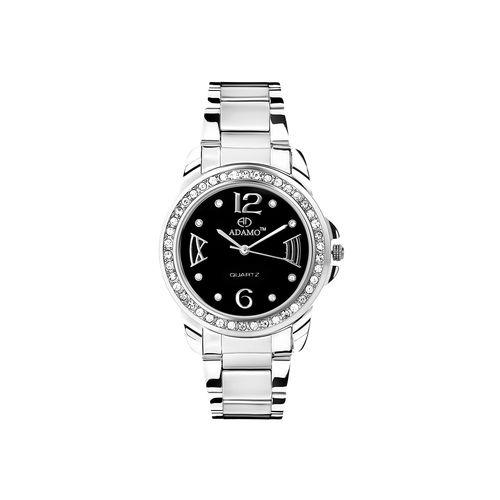 adamo shine women's wrist watch ad39sm02