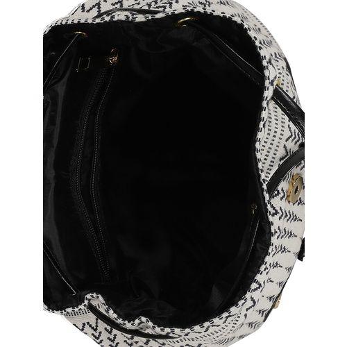 Kleio black leatherette (pu) regular backpack
