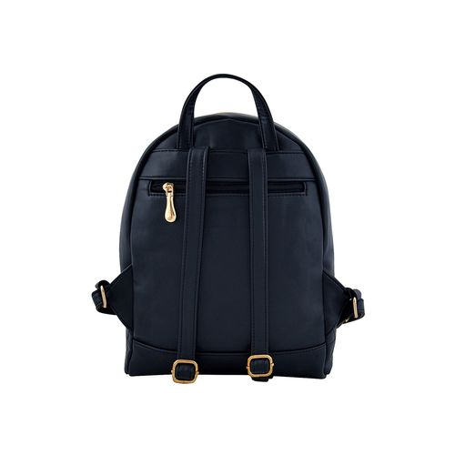LaFille blue leatherette (pu) backpack combo