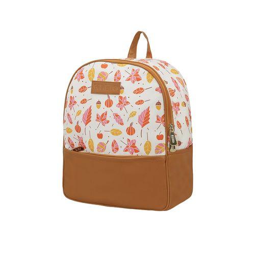 Kleio white canvas regular backpack