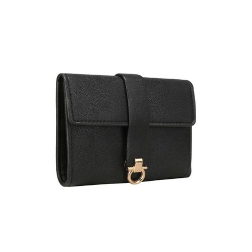 NIMMO black leatherette (pu) wallet
