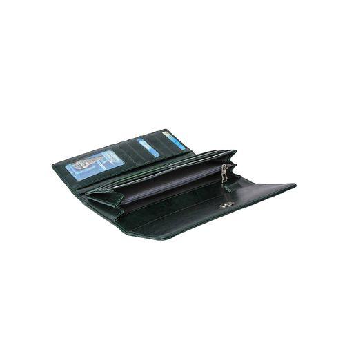 STYLER KING green leatherette (pu wallet