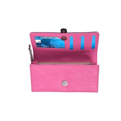 Blizzard pink leatherette (pu wallet