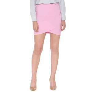 N-Gal high rise solid tulip skirt
