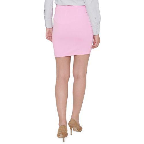 N-Gal high rise solid tulip skirt