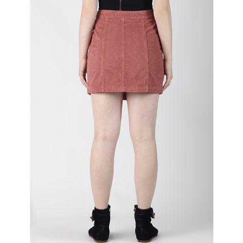 Blue Saint high rise button up skirt