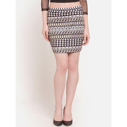 MARTINI embellished aztec pencil skirts