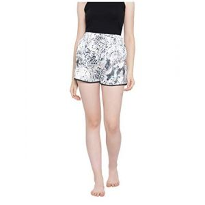 oxolloxo mid rise animal shorts