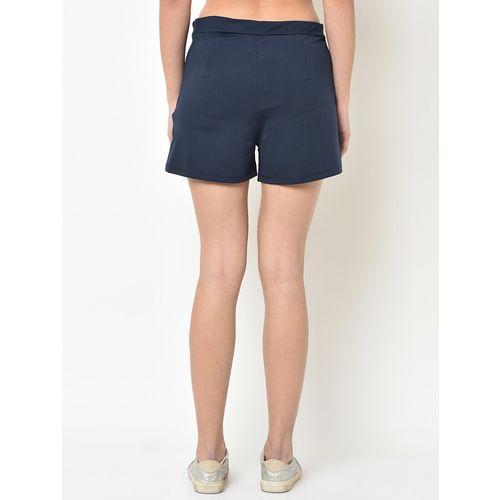 V2 VALUE & VARIETY button detail hot pants short