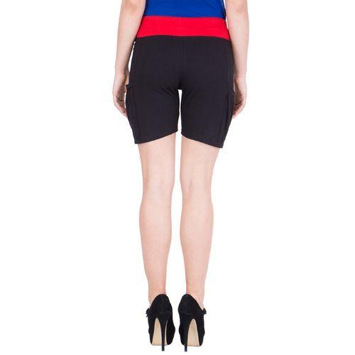 Cliths drawstring waist solid shorts