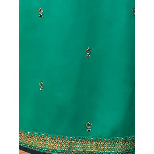 Mf Next embroidered unstitched churidaar suit