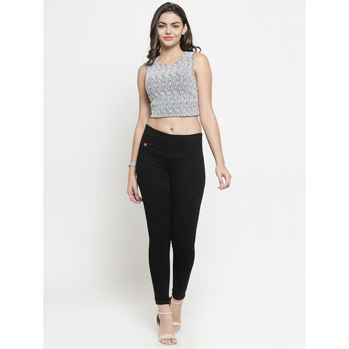 everlush high rise solid jeggings