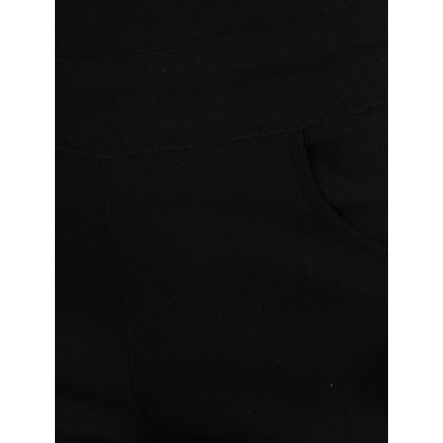 HARSHAYA-G black cotton jeggings