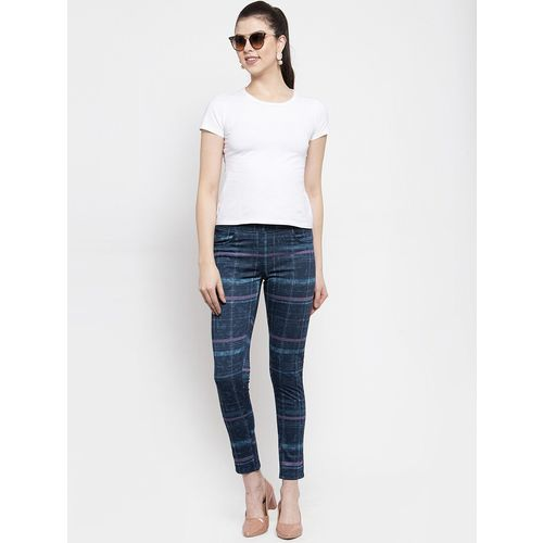westwood mid rise checkered jegging