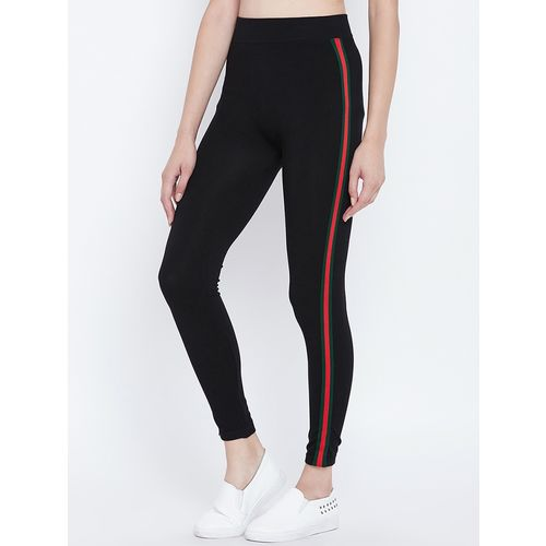 CAMEY side taping high waist jegging