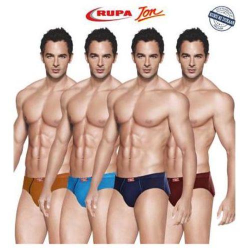 Rupa Solid Briefs - Multi,Pack Of 4 by Kuku Ki Dukaan