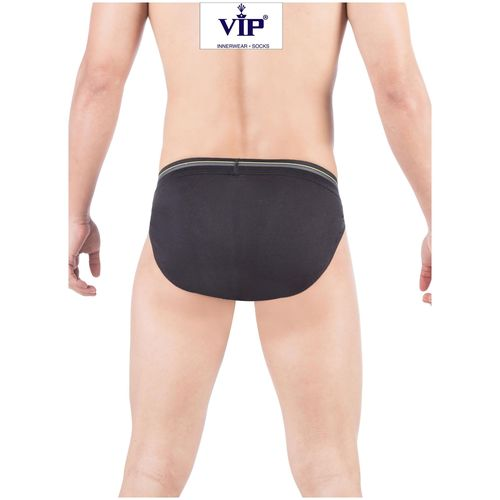 VIP Solid Briefs - Assorted,Pack Of 3 by Kuku Ki Dukaan